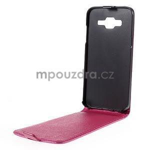 Flipové pouzdro na Samsung Galaxy J5 - rose - 2