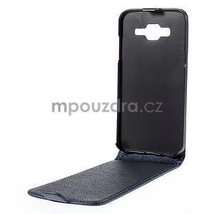 Flipové pouzdro na Samsung Galaxy J5 - tmavě modré - 2