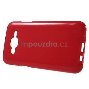 Červený gélový kryt pre Samsung Galaxy J5 - 2