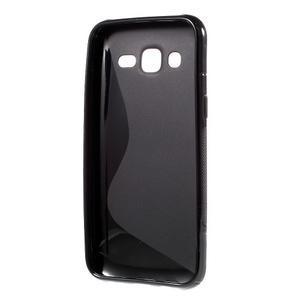 S-line gelový kryt na Samsung Galaxy J5 - černý - 2