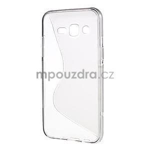 S-line gelový kryt na Samsung Galaxy J5 - šedý - 2