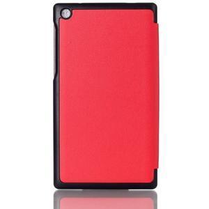 Polohovatelné pouzdro na tablet Lenovo Tab 2 A7-30 - červené - 2