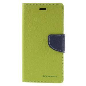 Diary stylové pouzdro na Asus Zenfone 2 Laser - zelené - 2