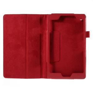 Koženkové pouzdro na tablet Asus ZenPad 7.0 Z370CG - červené - 2