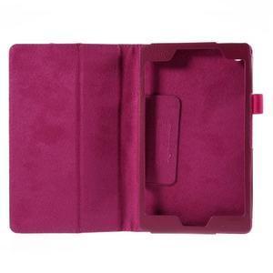 Koženkové pouzdro na tablet Asus ZenPad 7.0 Z370CG - rose - 2