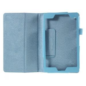 Koženkové pouzdro na tablet Asus ZenPad 7.0 Z370CG - světle modré - 2