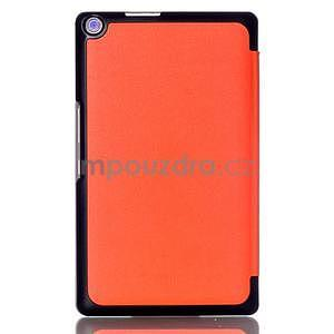 Třípolohové pouzdro na tablet Asus ZenPad 8.0 Z380C - oranžové - 2