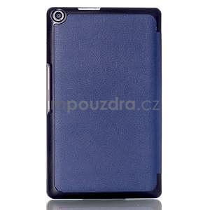Třípolohové pouzdro na tablet Asus ZenPad 8.0 Z380C - tmavěmodré - 2