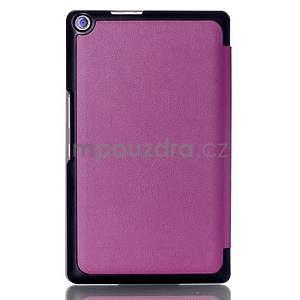 Třípolohové pouzdro na tablet Asus ZenPad 8.0 Z380C - fialové - 2