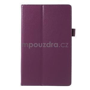 Safety polohovatelné pouzdro na tablet Asus ZenPad 8.0 Z380C - fialové - 2