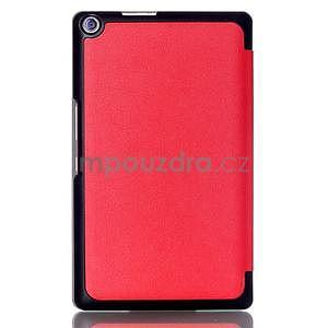 Třípolohové pouzdro na tablet Asus ZenPad 8.0 Z380C - červené - 2