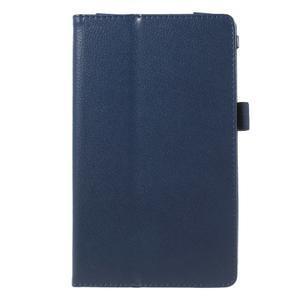Safety koženkové pouzdro na Asus ZenPad C 7.0 Z170MG - tmavěmodré - 2