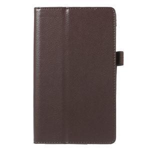 Safety koženkové pouzdro na Asus ZenPad C 7.0 Z170MG - hnědé - 2