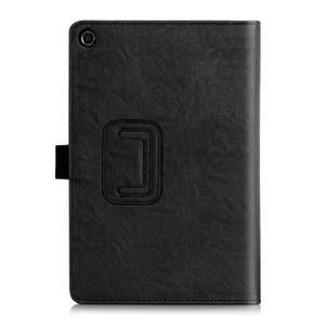 Polohovatelné koženkové pouzdro na tablet Asus ZenPad S 8.0 - černé - 2