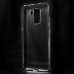 Transparentní gelový obal na telefon Honor 7 - šedý - 2