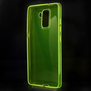 Transparentní gelový obal na telefon Honor 7 - žlutý - 2