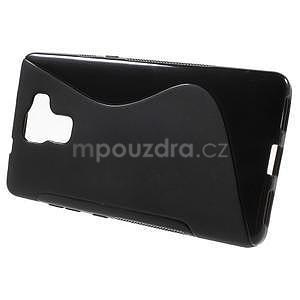 Černý gelový kryt S-line na Huawei Honor 7 - 2