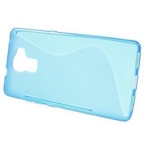 Modrý gelový kryt S-line na Huawei Honor 7 - 2