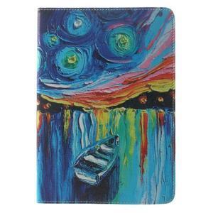 Paint stylové pouzdro na iPad Air 2 - loďka - 2