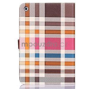 Fashion style pouzdro na iPad Air 2 - hnědé - 2