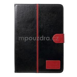 Daffi elegantní pouzdro na iPad Air 2 - černé - 2
