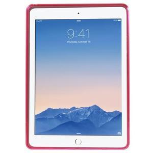 S-line gelový obal na iPad Air 2 - rose - 2