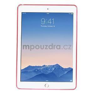 Ultra tenký slim obal na iPad Air 2 - červený - 2