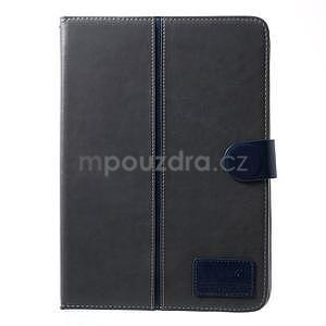 Daffi elegantní pouzdro na iPad Air 2 - šedé - 2