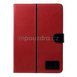 Daffi elegantní pouzdro na iPad Air 2 - červené - 2