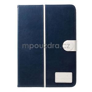 Daffi elegantní pouzdro na iPad Air 2 - tmavěmodré - 2