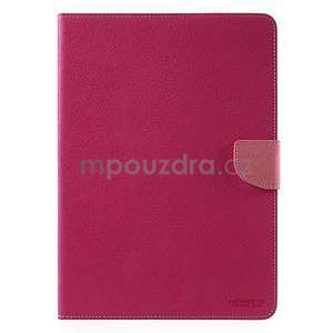 Diary peněženkové pouzdro na iPad Air - rose - 2