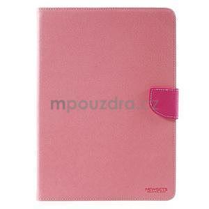 Diary peněženkové pouzdro na iPad Air - růžové - 2