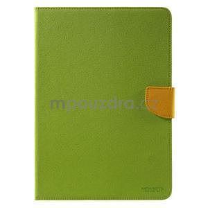 Diary peněženkové pouzdro na iPad Air - zelené - 2