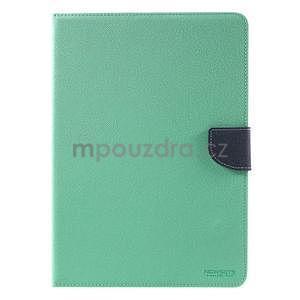 Diary peněženkové pouzdro na iPad Air - azurové - 2