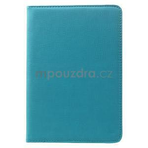 Circu otočné pouzdro na Apple iPad Mini 3, iPad Mini 2 a ipad Mini - modré - 2