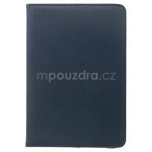 Circu otočné pouzdro na Apple iPad Mini 3, iPad Mini 2 a ipad Mini - tmavěmodré - 2