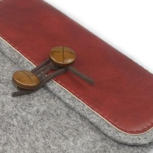 Envelope univerzální pouzdro na tablet 22 x 16 cm - červené - 2