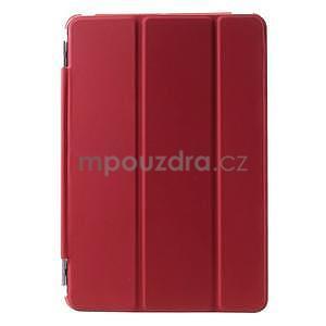 Classic tří polohové pouzdro na iPad Mini 3, ipad Mini 2 a na iPad Mini - červené - 2