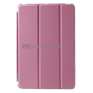 Classic tří polohové pouzdro na iPad Mini 3, ipad Mini 2 a na iPad Mini - růžové - 2