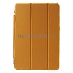 Classic tří polohové pouzdro na iPad Mini 3, ipad Mini 2 a na iPad Mini - oranžová - 2