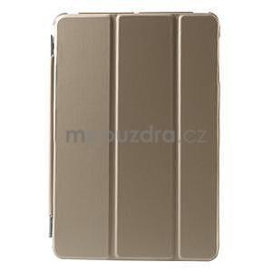 Classic tří polohové pouzdro na iPad Mini 3, ipad Mini 2 a na iPad Mini - champagne - 2