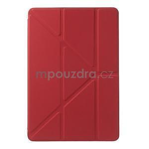 Origami ochranné pouzdro iPad Mini 3, iPad Mini 2, iPad mini - červené - 2