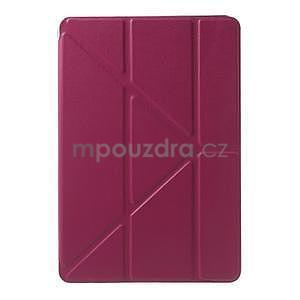 Origami ochranné pouzdro iPad Mini 3, iPad Mini 2, iPad mini - rose - 2