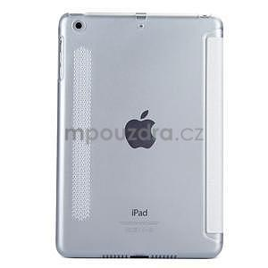 Lines polohovatelné pouzdro na iPad Mini 3 / iPad Mini 2 / iPad mini - bílé - 2