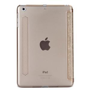 Lines polohovatelné pouzdro na iPad Mini 3 / iPad Mini 2 / iPad mini - zlaté - 2