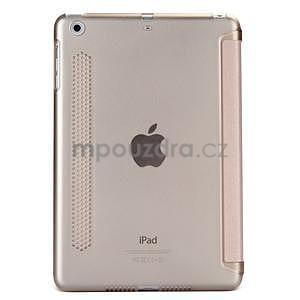 Lines polohovatelné pouzdro na iPad Mini 3 / iPad Mini 2 / iPad mini - rose gold - 2