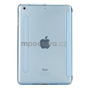 Lines polohovatelné pouzdro na iPad Mini 3 / iPad Mini 2 / iPad mini - modré - 2