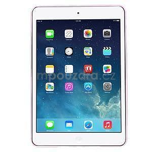 Ultra tenký slim obal na iPad Mini 3, iPad Mini 2, iPad Mini - růžový - 2