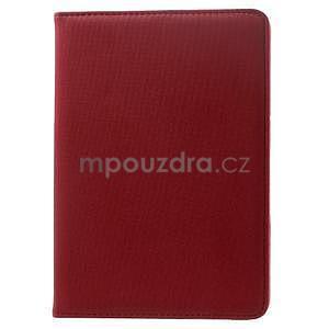 Circu otočné pouzdro na Apple iPad Mini 3, iPad Mini 2 a ipad Mini - červené - 2
