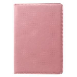 Circu otočné pouzdro na Apple iPad Mini 3, iPad Mini 2 a ipad Mini - růžové - 2
